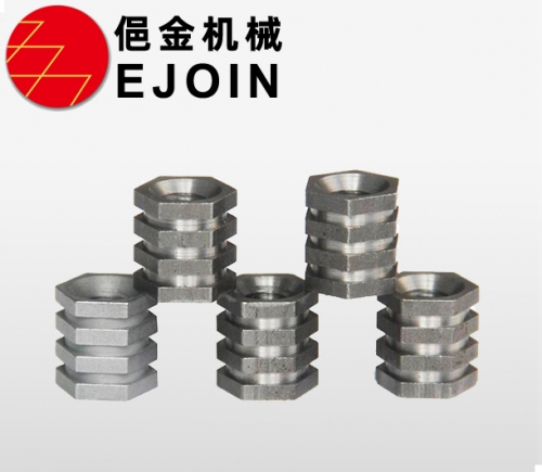 Automobile nut, non-standard nut, galvanized nickel alloy