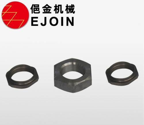 Non - standard hexagon nut, hexagon tube material production, cold heading processing